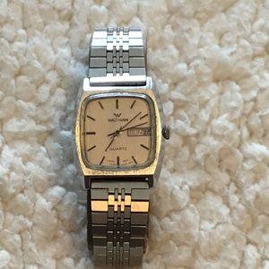 Vintage Waltham quartz wrist watch